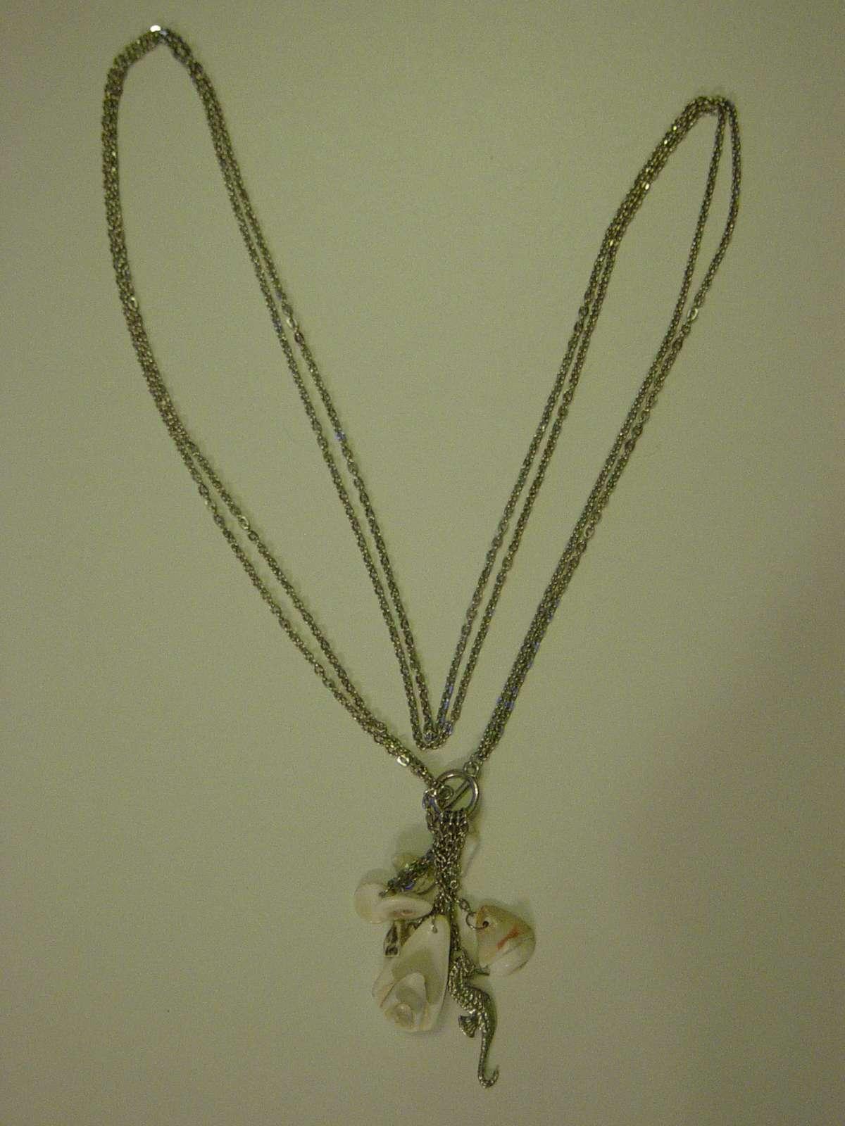Náhrdelník s morským koníkom a mušličkami - Obrázok č. 2