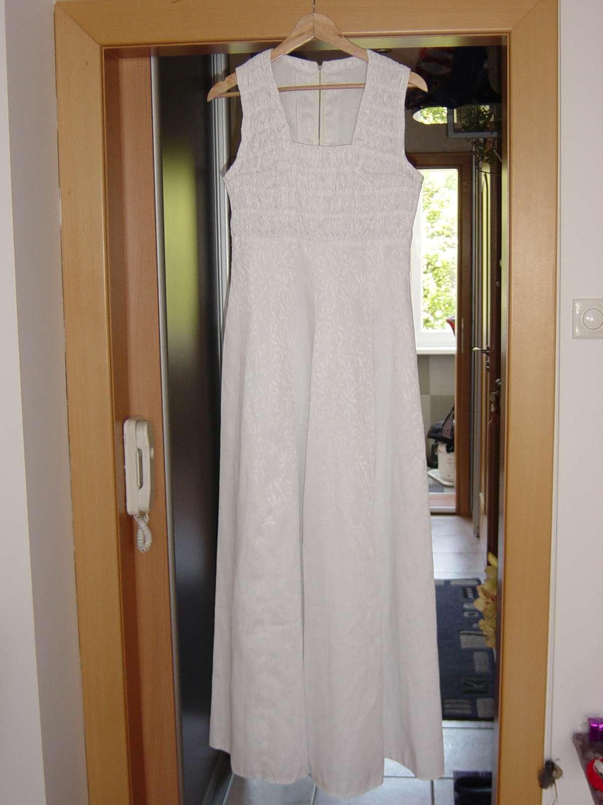 Biele svadobné/spoločenské šaty - Obrázok č. 1