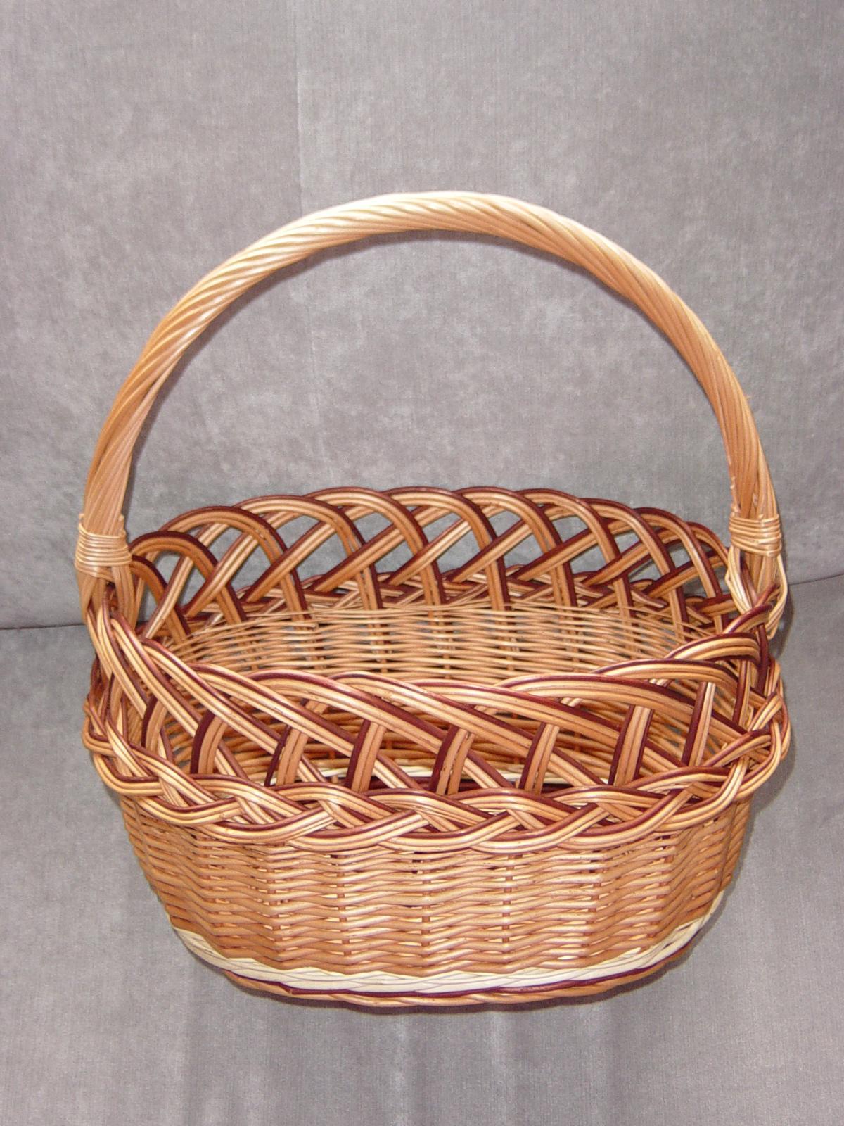 Košík na svadobný piknik - Obrázok č. 1