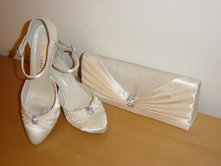 Svadobné/spoločenské topánky č. 40 - 41 - Obrázok č. 1