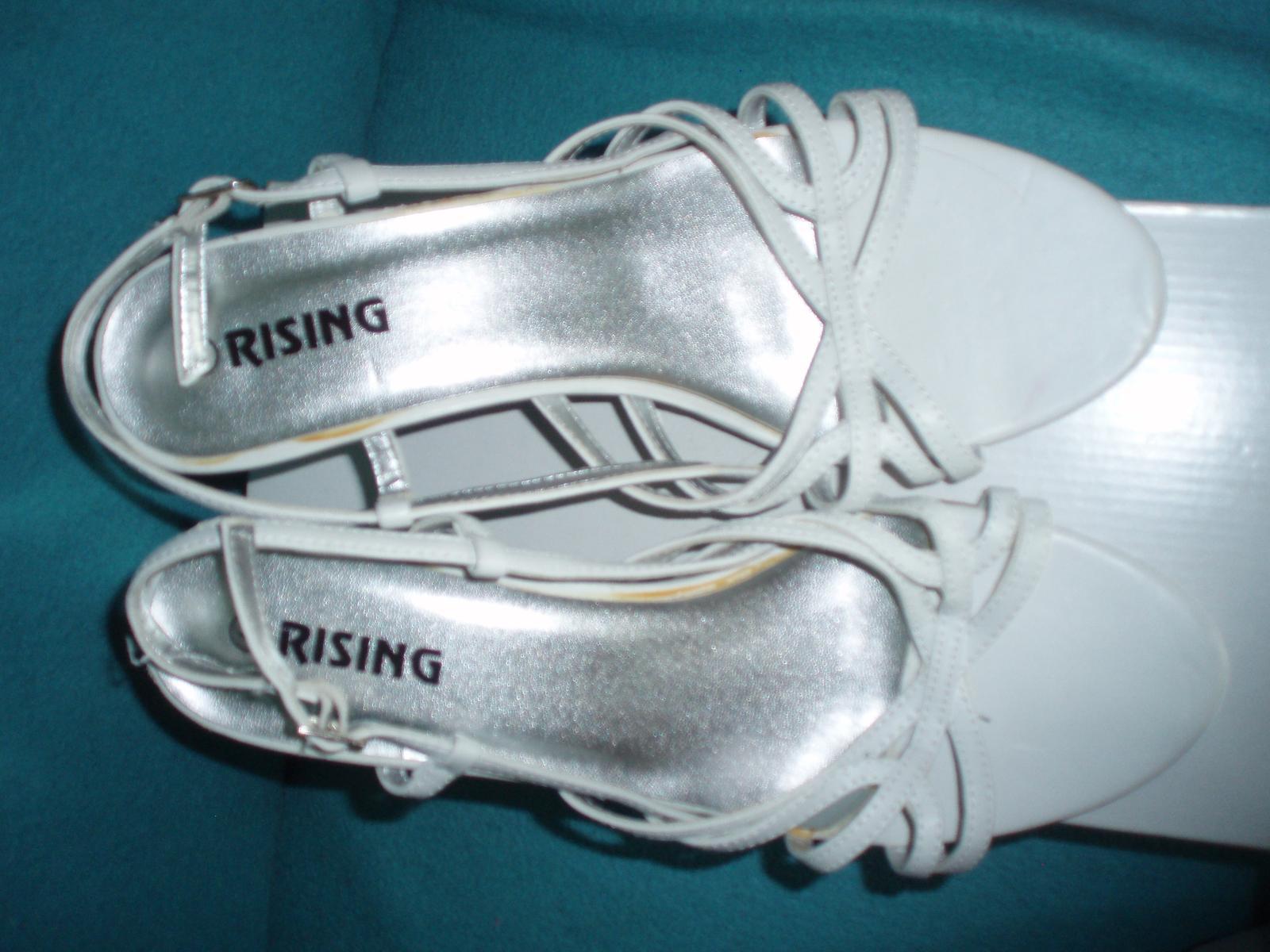 Biele remienkové sandálky - Obrázok č. 2