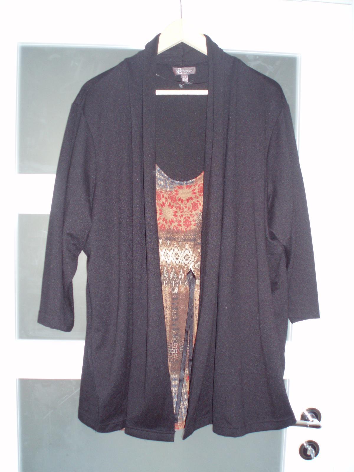 Dámsky sveter 2 v 1 - Obrázok č. 1