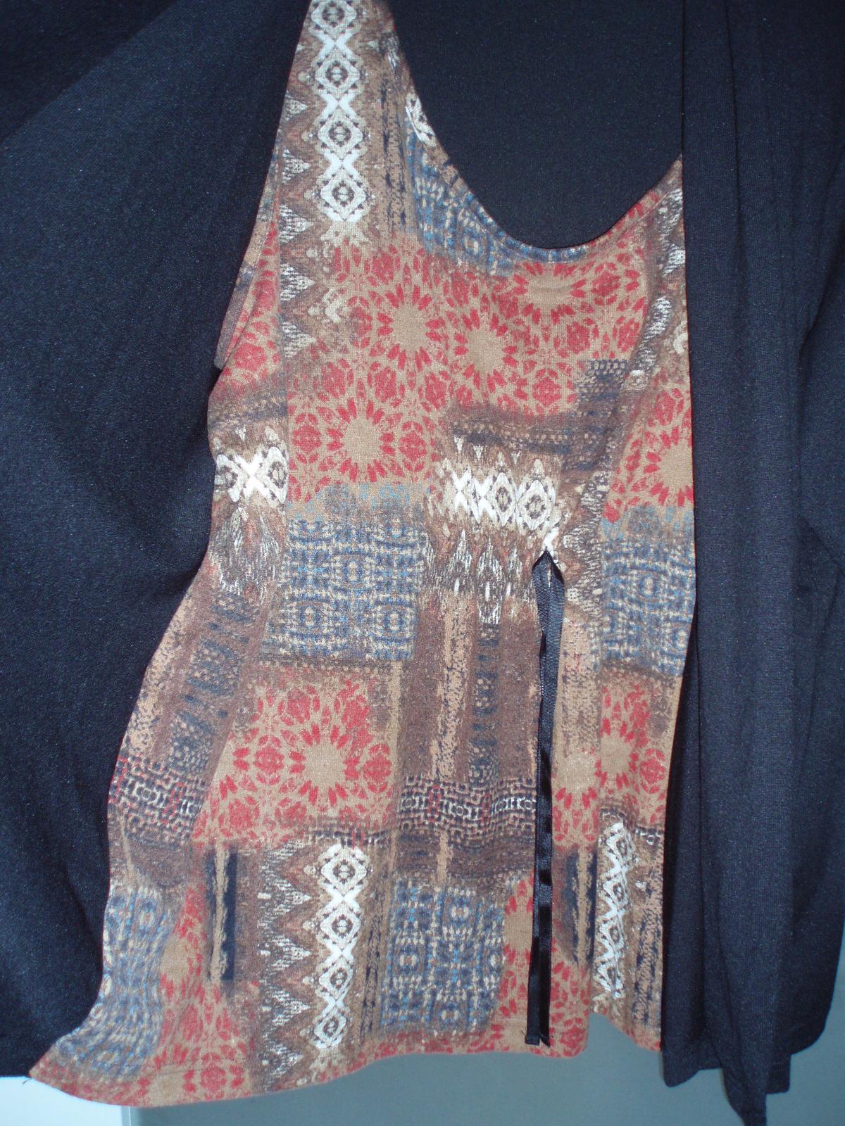 Dámsky sveter 2 v 1 - Obrázok č. 2