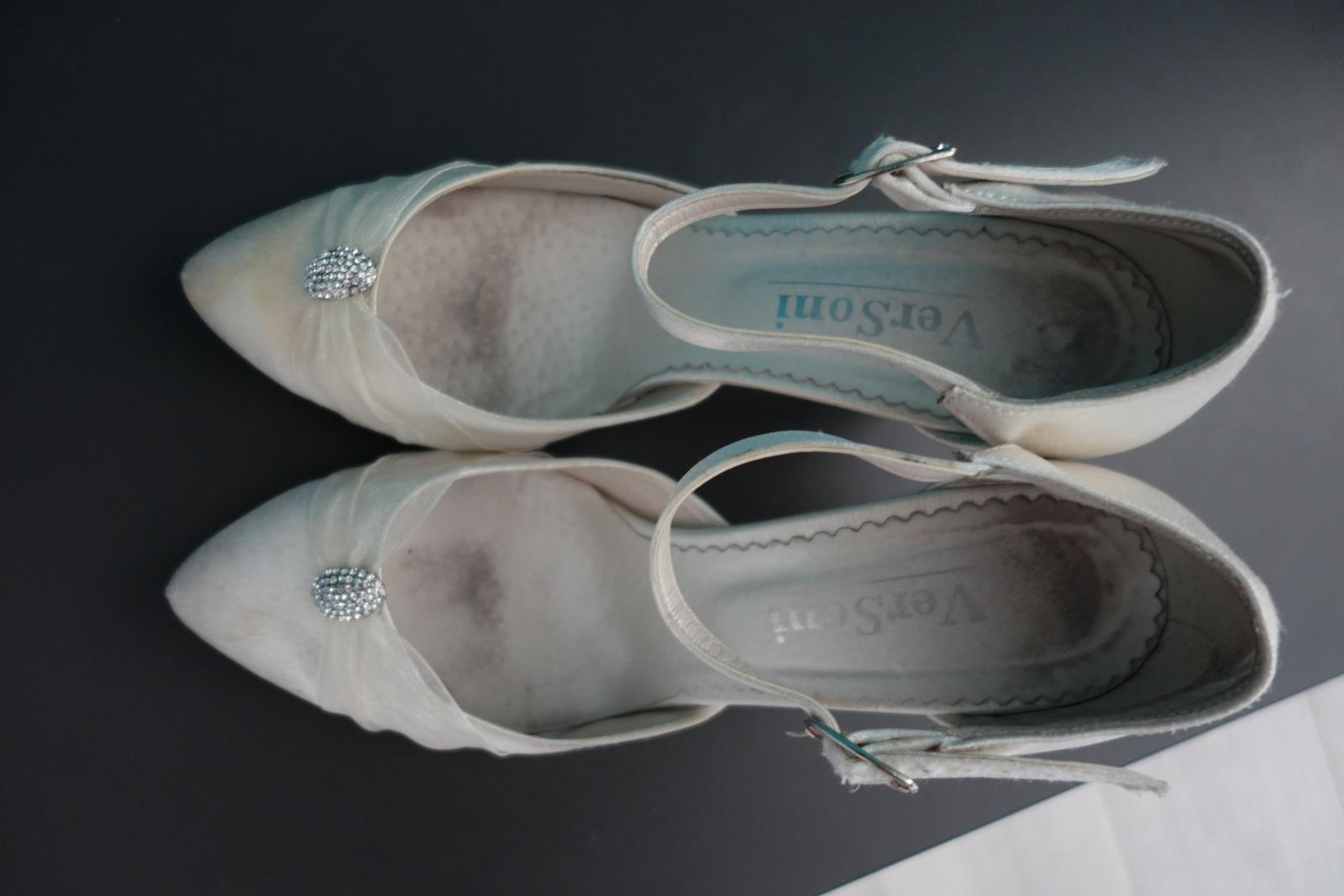 Svadobné/spoločenské topánky č. 40 - 41 - Obrázok č. 2