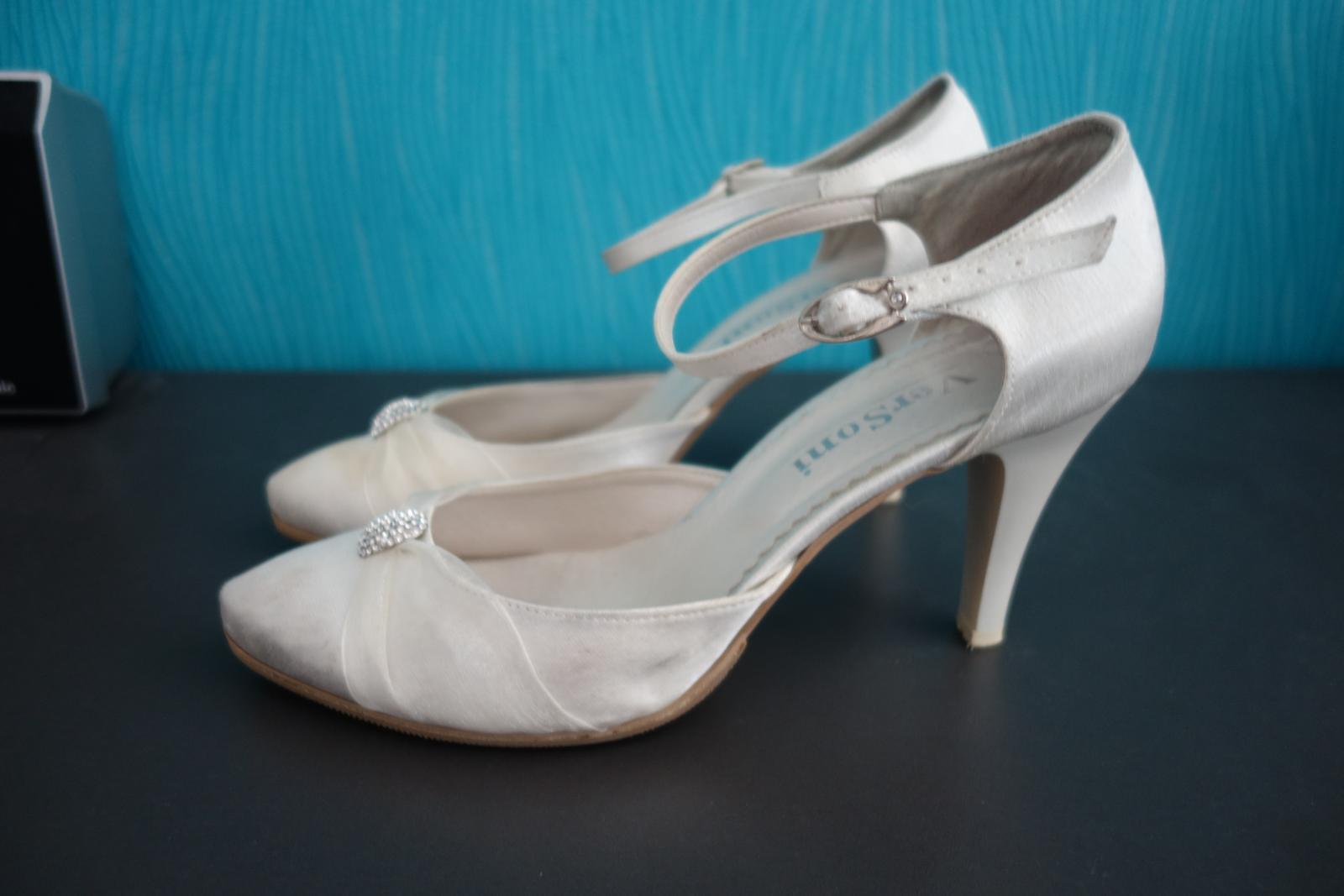 Svadobné/spoločenské topánky č. 40 - 41 - Obrázok č. 3