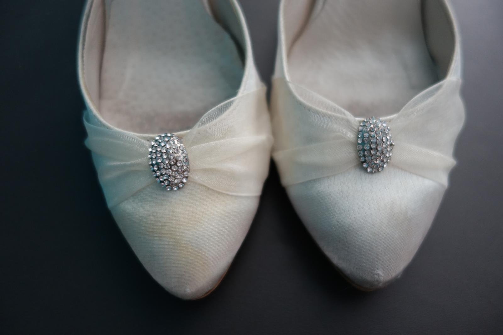 Svadobné/spoločenské topánky č. 40 - 41 - Obrázok č. 4