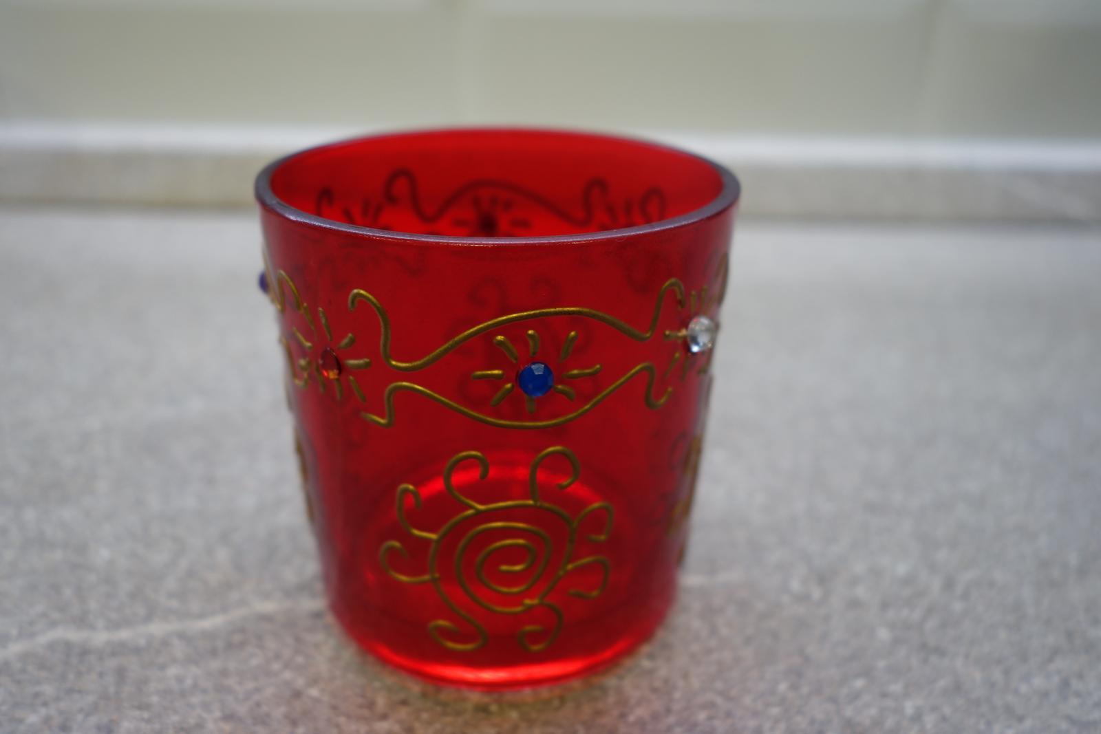Svietnik na čajovú sviečku - Obrázok č. 2