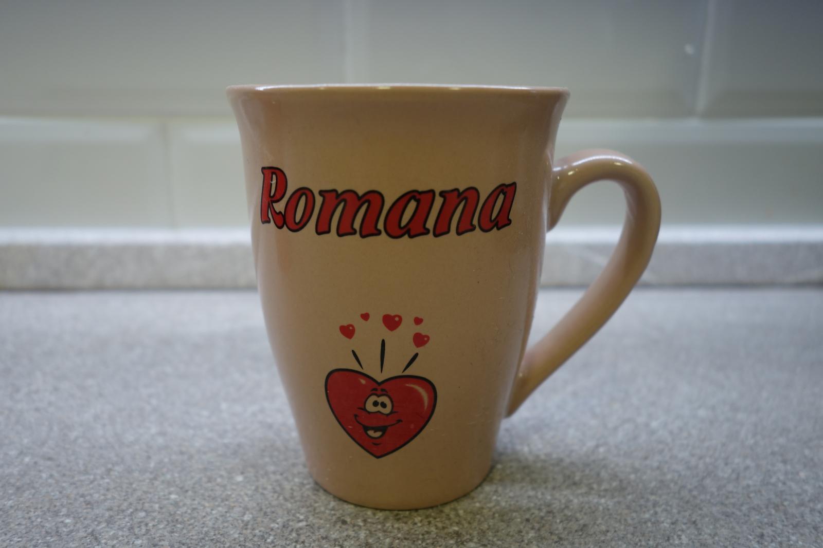 Hrnček Romana - Obrázok č. 1