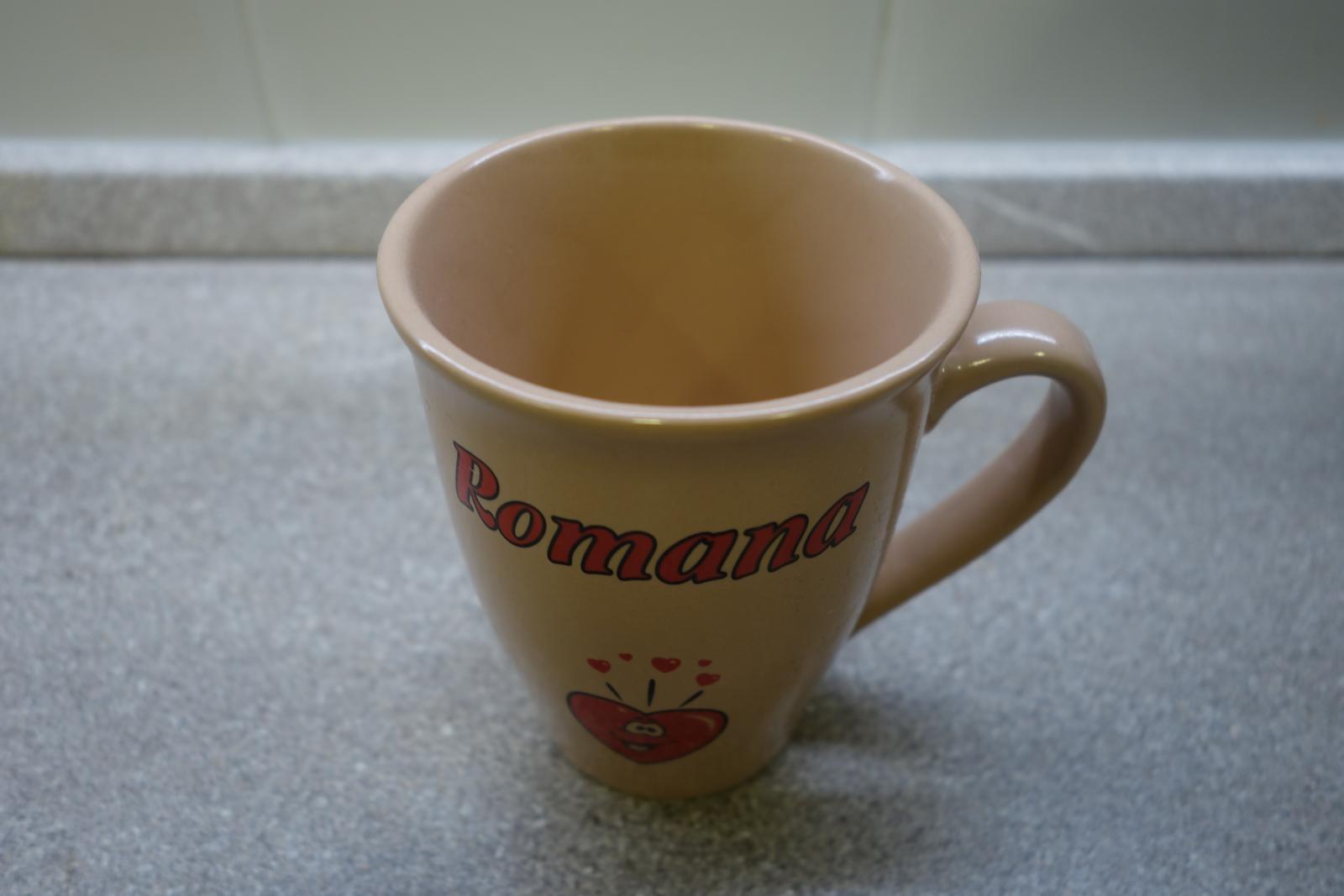 Hrnček Romana - Obrázok č. 2