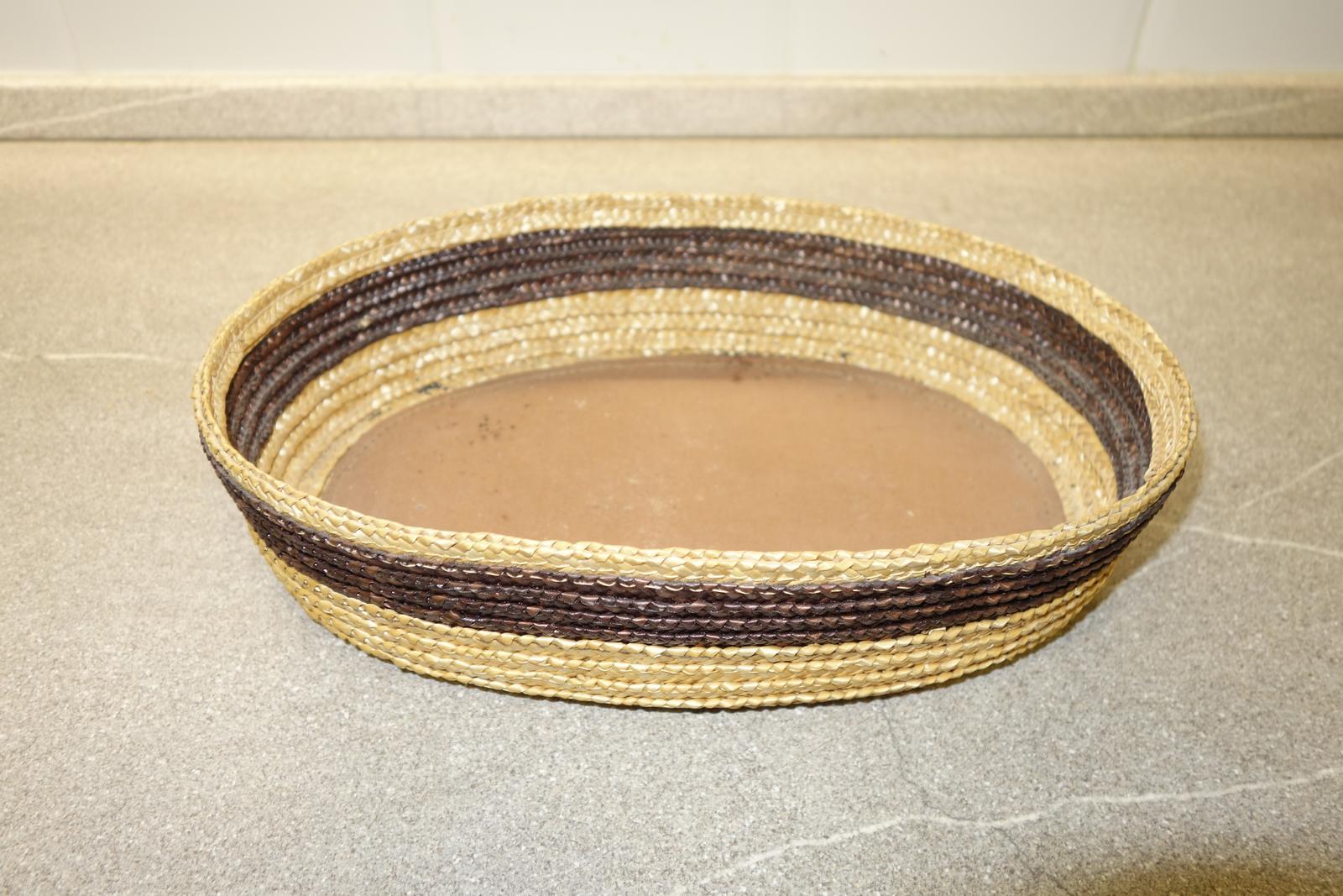Prútený košík - miska na ovocie al. drobnosti - Obrázok č. 2