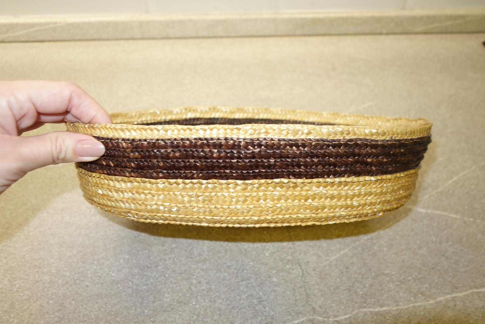 Prútený košík - miska na ovocie al. drobnosti - Obrázok č. 1