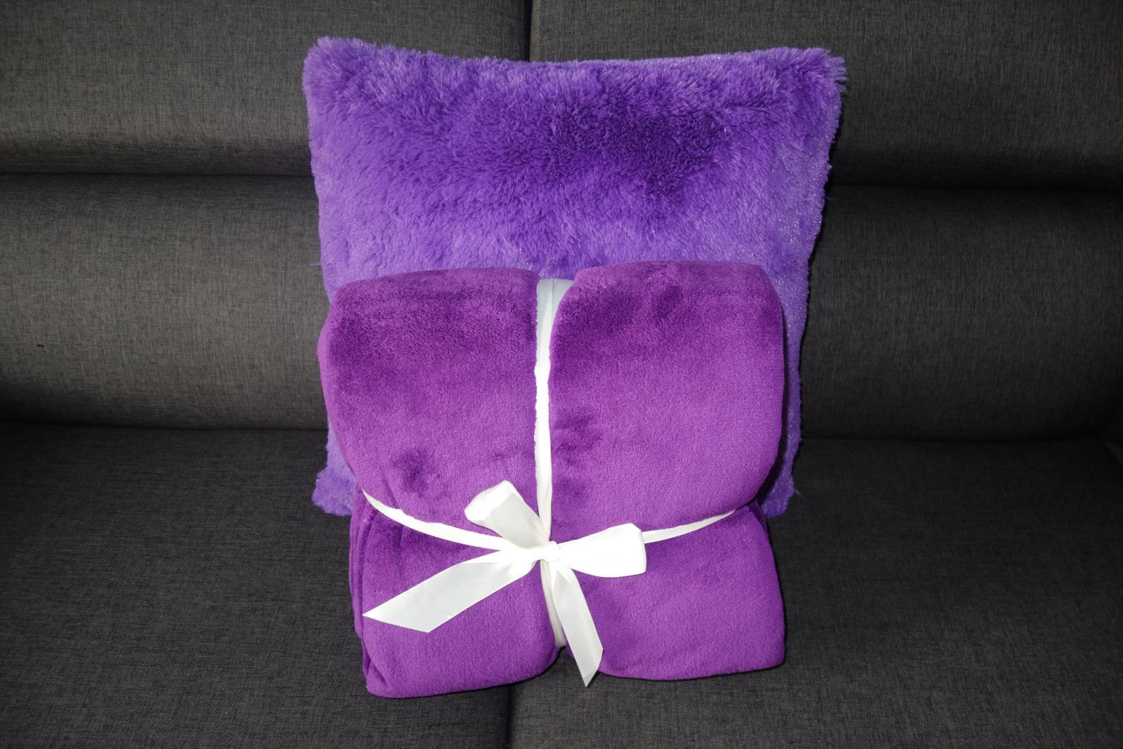 XXL deka a vankúš na posteľ, sedačku - Obrázok č. 1