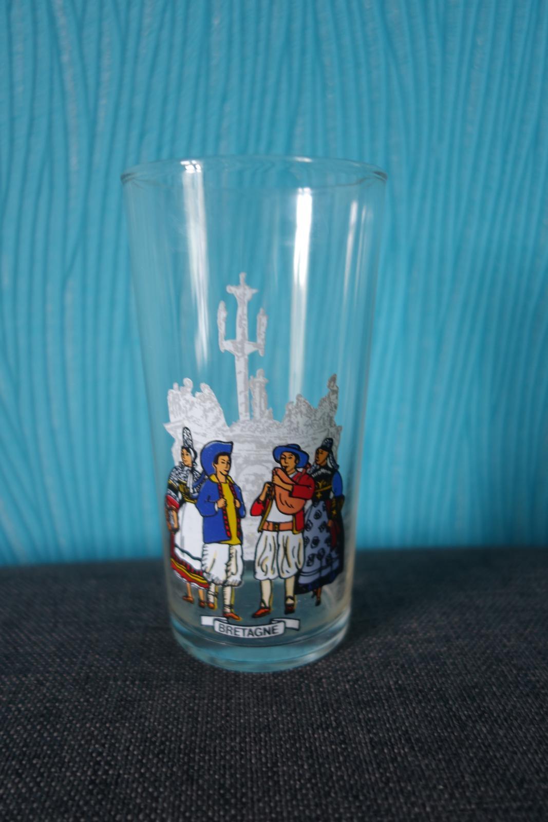 Pamätný pohárik Bretagne zn. Reims France - Obrázok č. 1