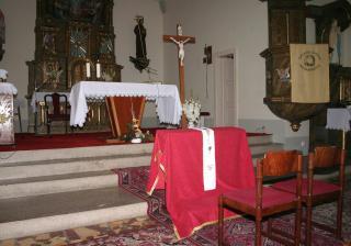 ...náš kostolík v Sielnici...