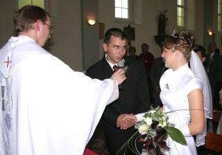 """Ja Mirko beriem si Teba Janka za manželku..."""