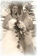 Moje sestricka Danielka a zaroven i muj svedek