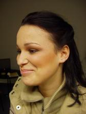 zkouška makeupu u paní Beitlové