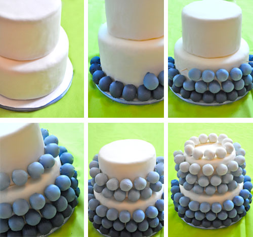 *svadobne urob si sam* - torta 5