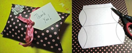 na darčeky pre hostí :)