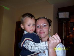 s mojím synovcom Ivkom ...