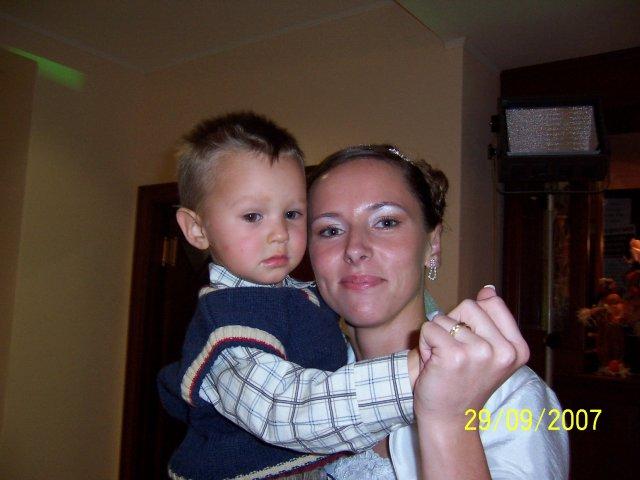Janka{{_AND_}}Maroško - s mojím synovcom Ivkom ...