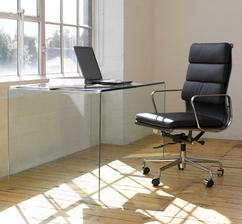 Charles  & Ray Eames - Aluminium & Soft pad group chairs - 1958-69
