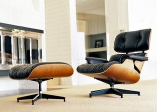 Charles & Ray Eames - Lounge Chair (670) & Ottoman (671) - 1956