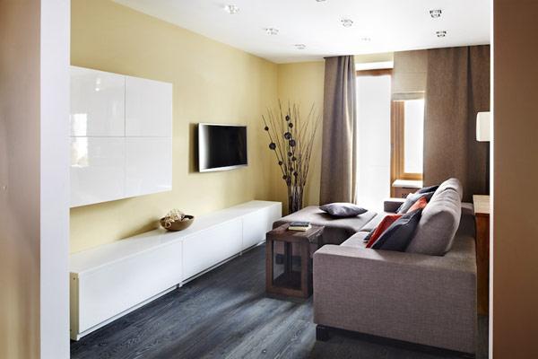 Jemne tony zeme - Moscow Apartment