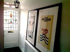 Moje Kubanske rucne tlacene Filmove plagaty z 80tych rokov cakaju na klincek na stene :-)