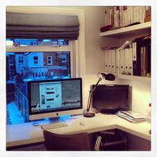 Moj home office ... Zatial napchaty v hostovskej ...