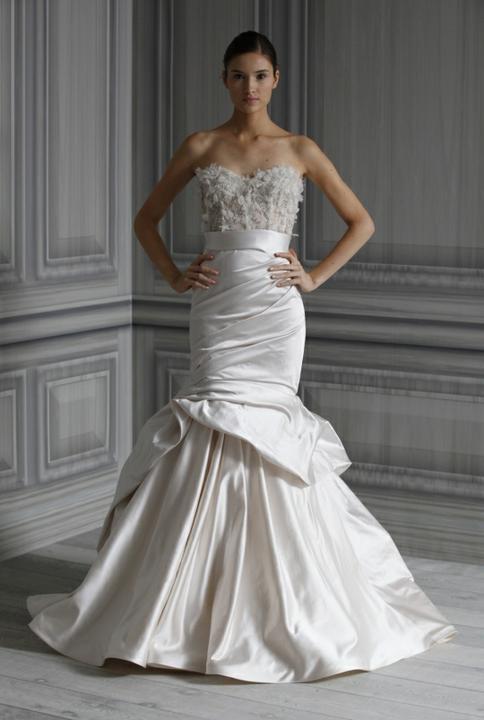 Svadobné šaty - svet 2 - Monique Lhuillier Eternity
