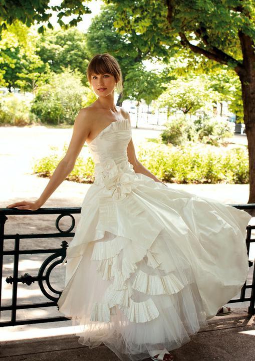 Svadobné šaty - vintage - Cymbeline Ecuyere