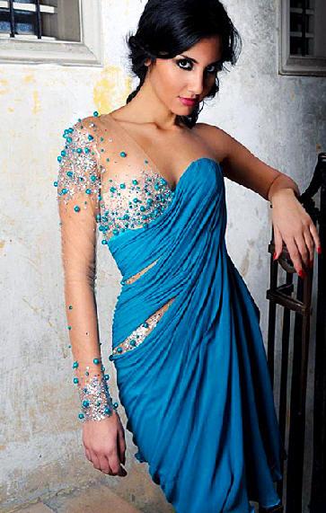 Popolnočné šaty 2 - Evening Dress