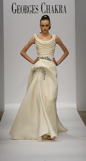 Popolnočné šaty 2 - Georges Chakra 2217