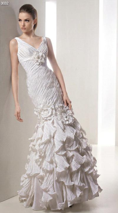 Svadobné šaty - svet 2 - White One 3032