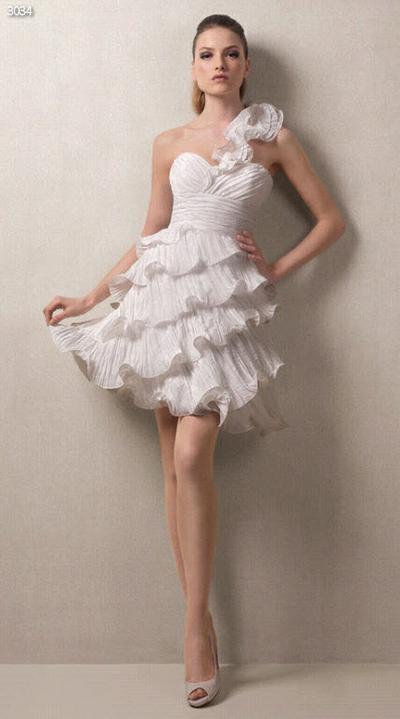Svadobné šaty - svet 2 - White One 3034
