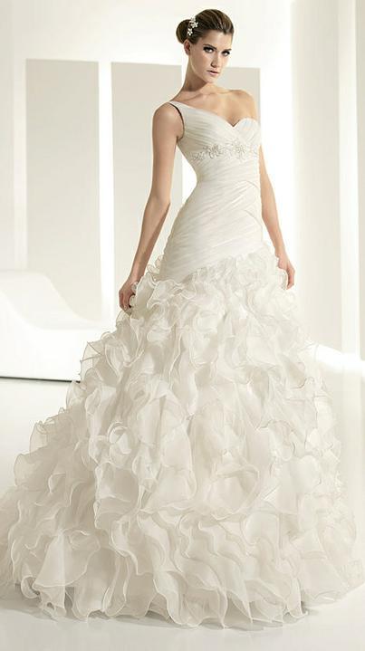 Svadobné šaty - svet 2 - White One 6204
