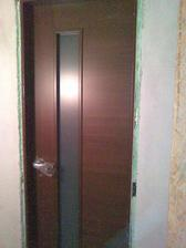 Nove dvere, osadzanie zarubni vyslo az na druhy krat.