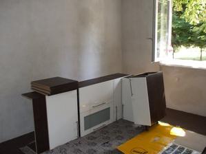 Kuchynska linka docasne v izbe