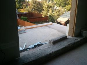 buduci balkon/teraska