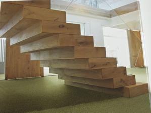 takto by mali vyzerat nase schody po oblozeni