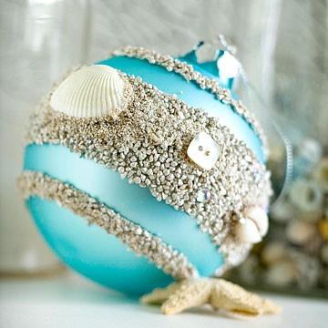 Trochu ine Vianoce - inspiracie - S dotykom mora