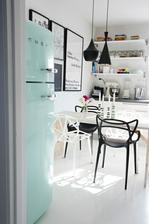 v skandinavskom style s bielou podlahou