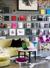knihy ako dekoracia
