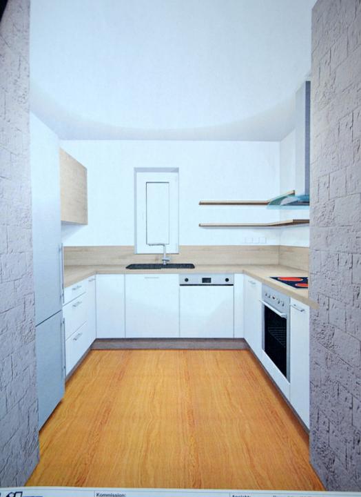 U nás - v malom dome :-) - kuchyna objednana.. znacka Vonderstedt.. Vrchne skrinky dub virginia a spodne matna biela.. spotrebice nakoniec kombinacia cierna a nerez.. drez Franke- cierny