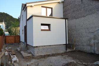 stvorec vpravo = terasa