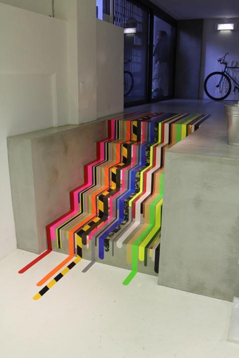 WASHI pásky - na schodoch