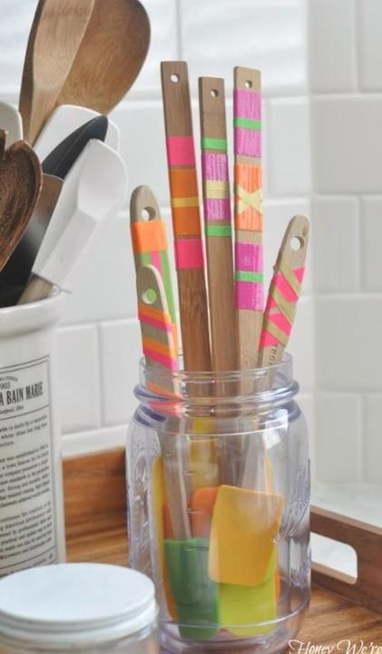 WASHI pásky - na kuchynskych vareskach