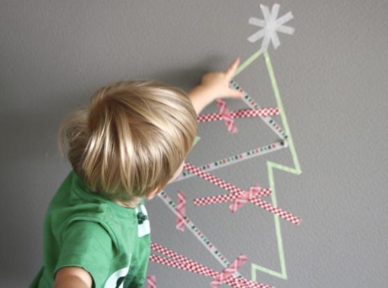 WASHI pásky - vianocne deko