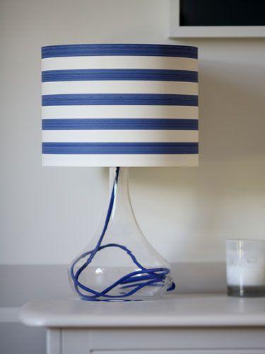 WASHI pásky - na lampach